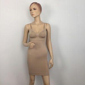 SPANX Nude Shape Slip Dress Small